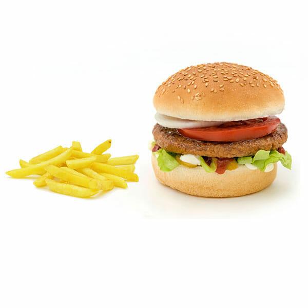 Beef-Burger-fries